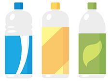 プラスチックで出来た製品